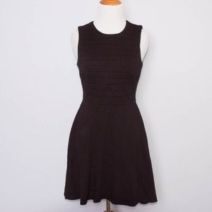 Bailey 44 Black Fit and Flare Quilted Dress